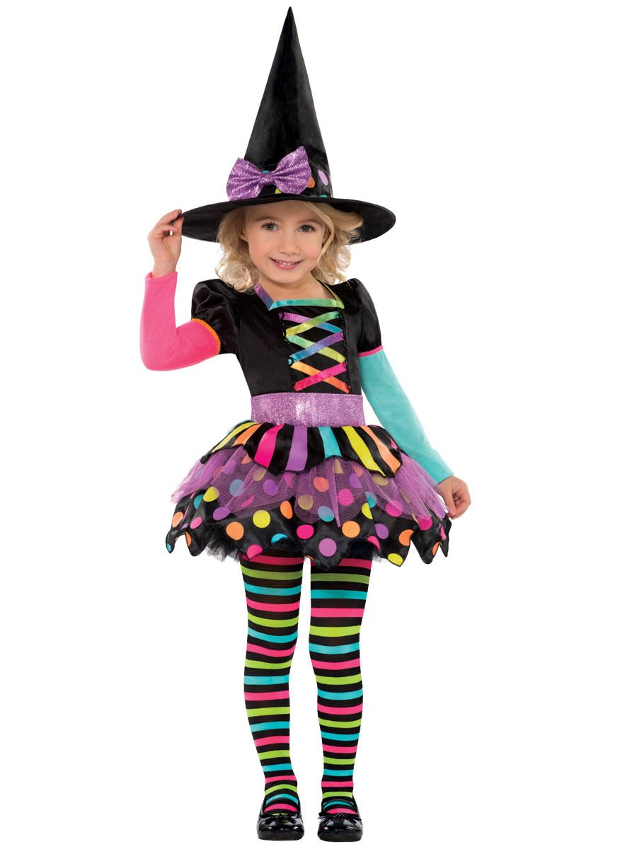 nina-Mama-A-JUEGO-Disfraz-de-Bruja-Infantil-Halloween-infantil-Disfraz