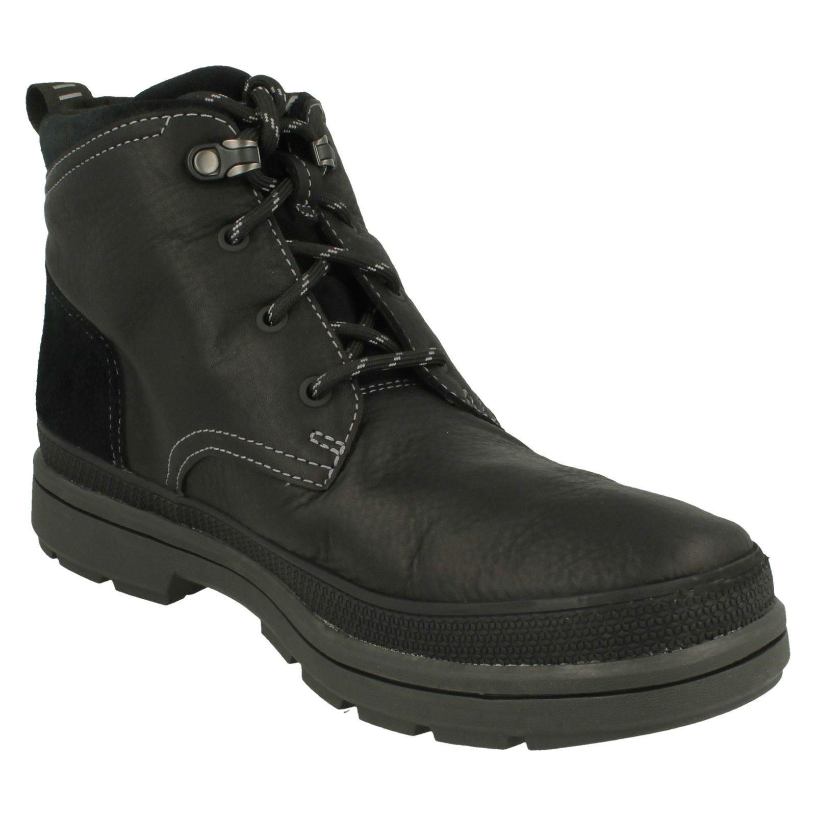 291dc56349b Details about Mens Clarks Gore-Tex Casual Boots 'Rushway Mid'