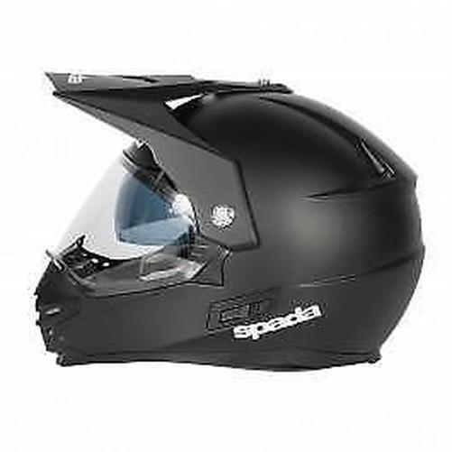 Spada-Intrepid-Casque-de-Moto-Noir-Mat miniature 12