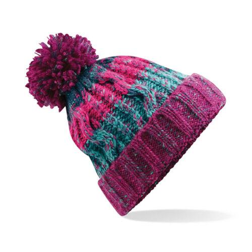 Pom Pom Kintted Gorro para hombre mujer Bobble Gorra Lanudo Sombreros de  invierno de diseñador 5043632ebea