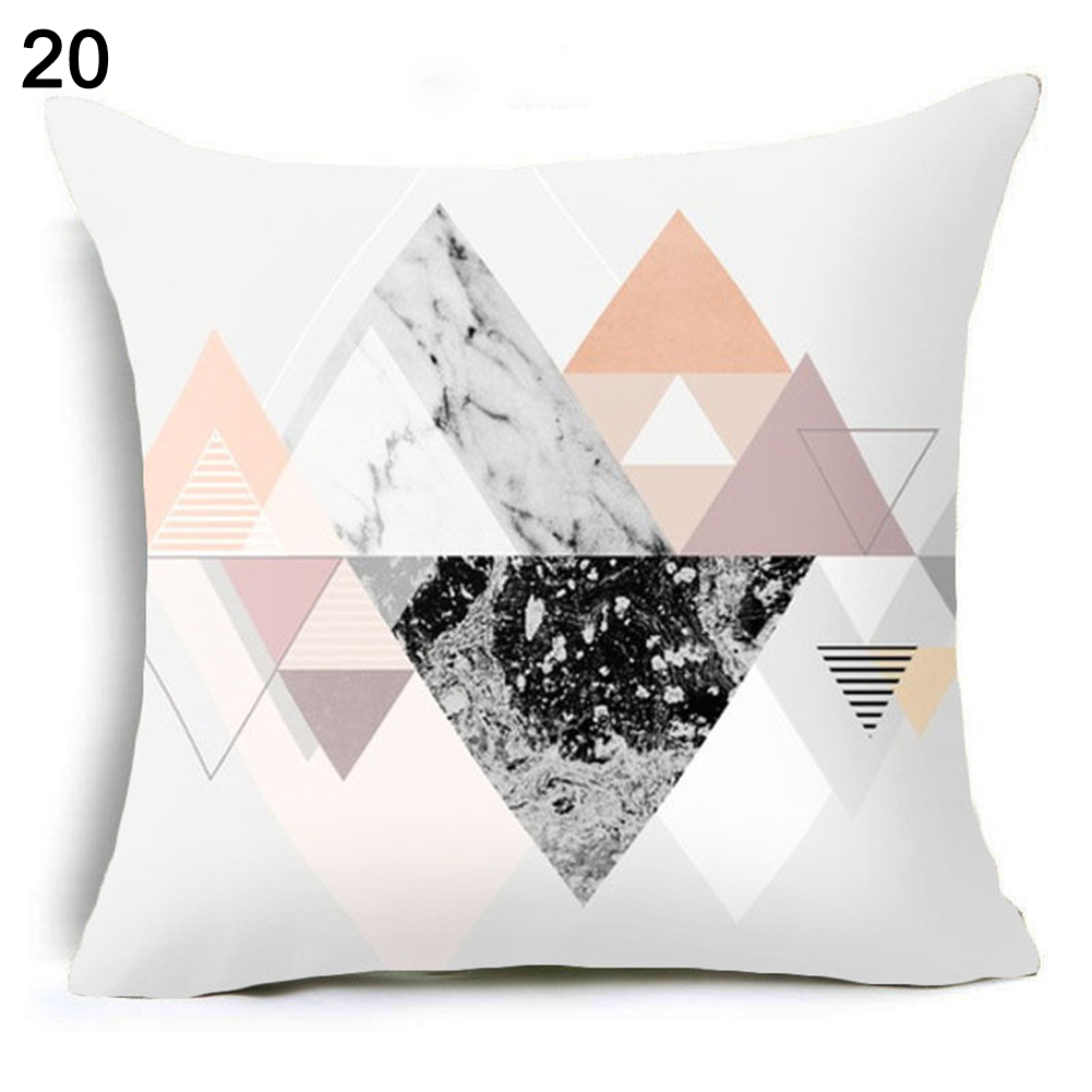 Boho-geometrico-poliester-Almohada-Funda-Cintura-De-Cojin-Sofa-Decoracion-Hogar