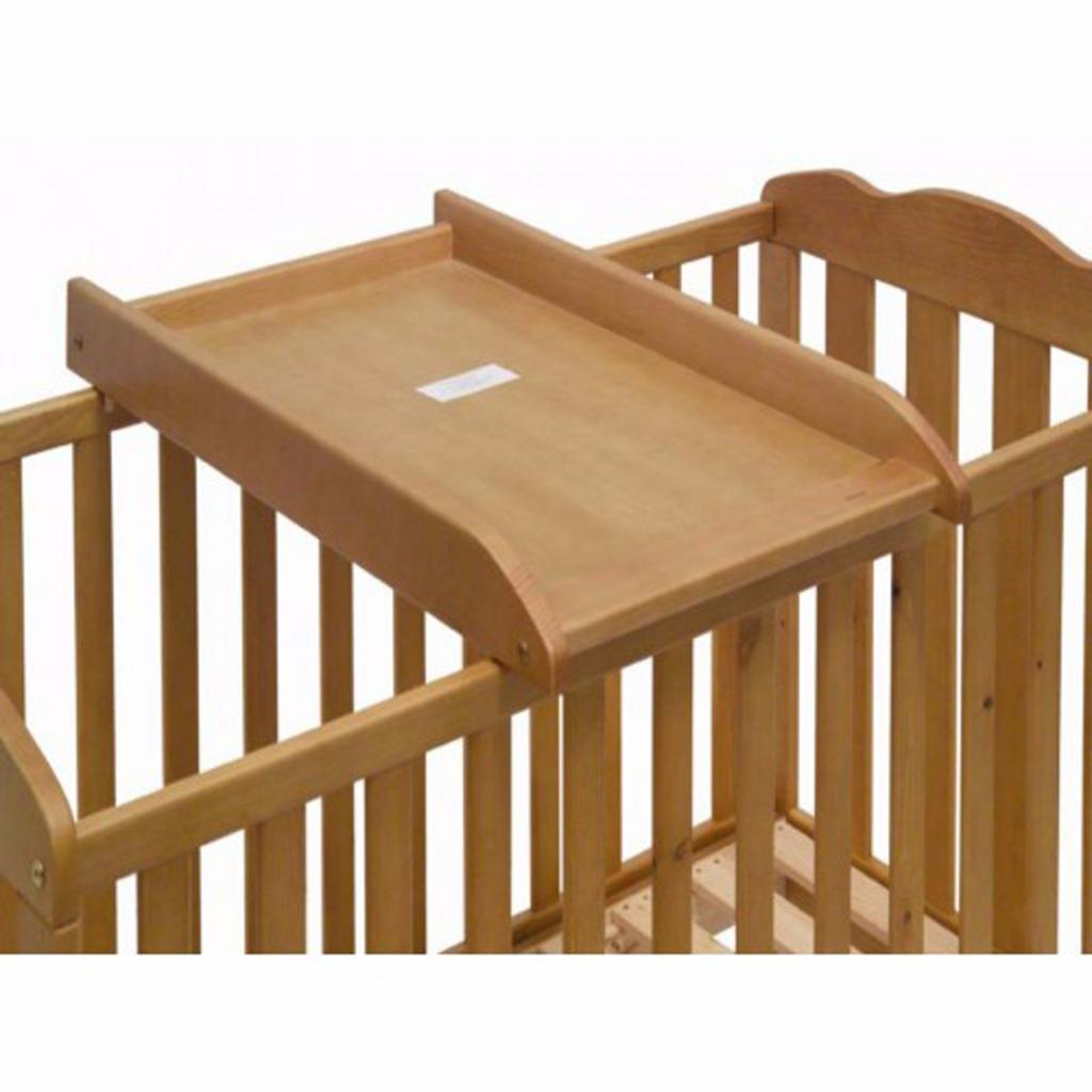 Saplings lit d 39 enfant haut b b table langer changement for Combine lit table a langer