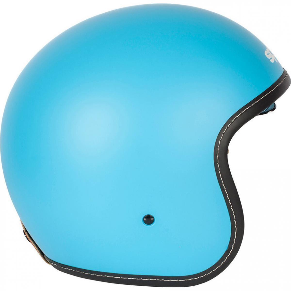 Spada-Raze-Ouvert-Casque-Bleu-Integre-Visiere miniature 11