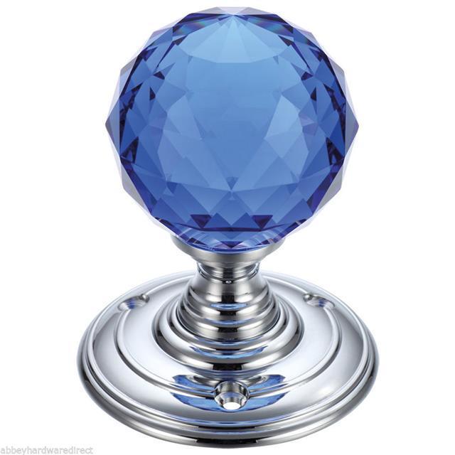 kristall geschliffenes glas nut t r knauf poliertes chrom satin verchromt ebay. Black Bedroom Furniture Sets. Home Design Ideas