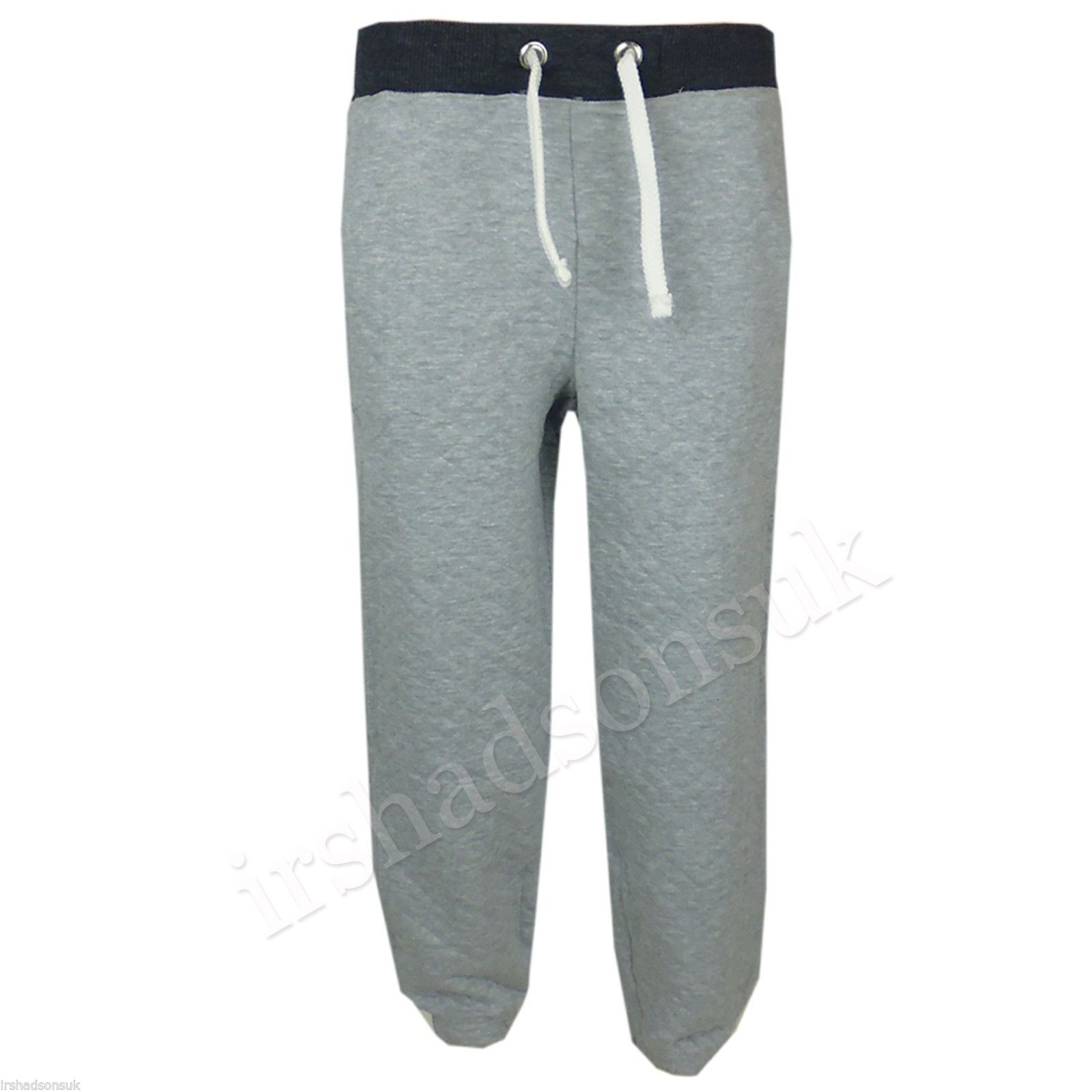 Kids Girls Boys Quilted Plain Fleece Casual Jogging Trouser Pant ... : quilted trousers - Adamdwight.com
