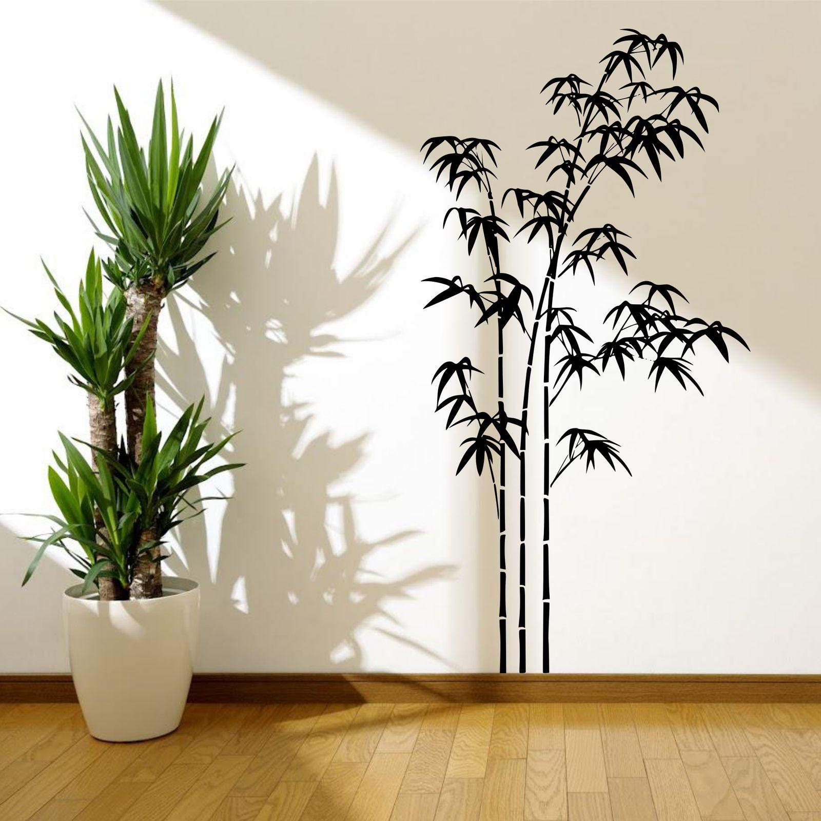 bambus baum gras wild dschungel wand sticker aufkleber. Black Bedroom Furniture Sets. Home Design Ideas