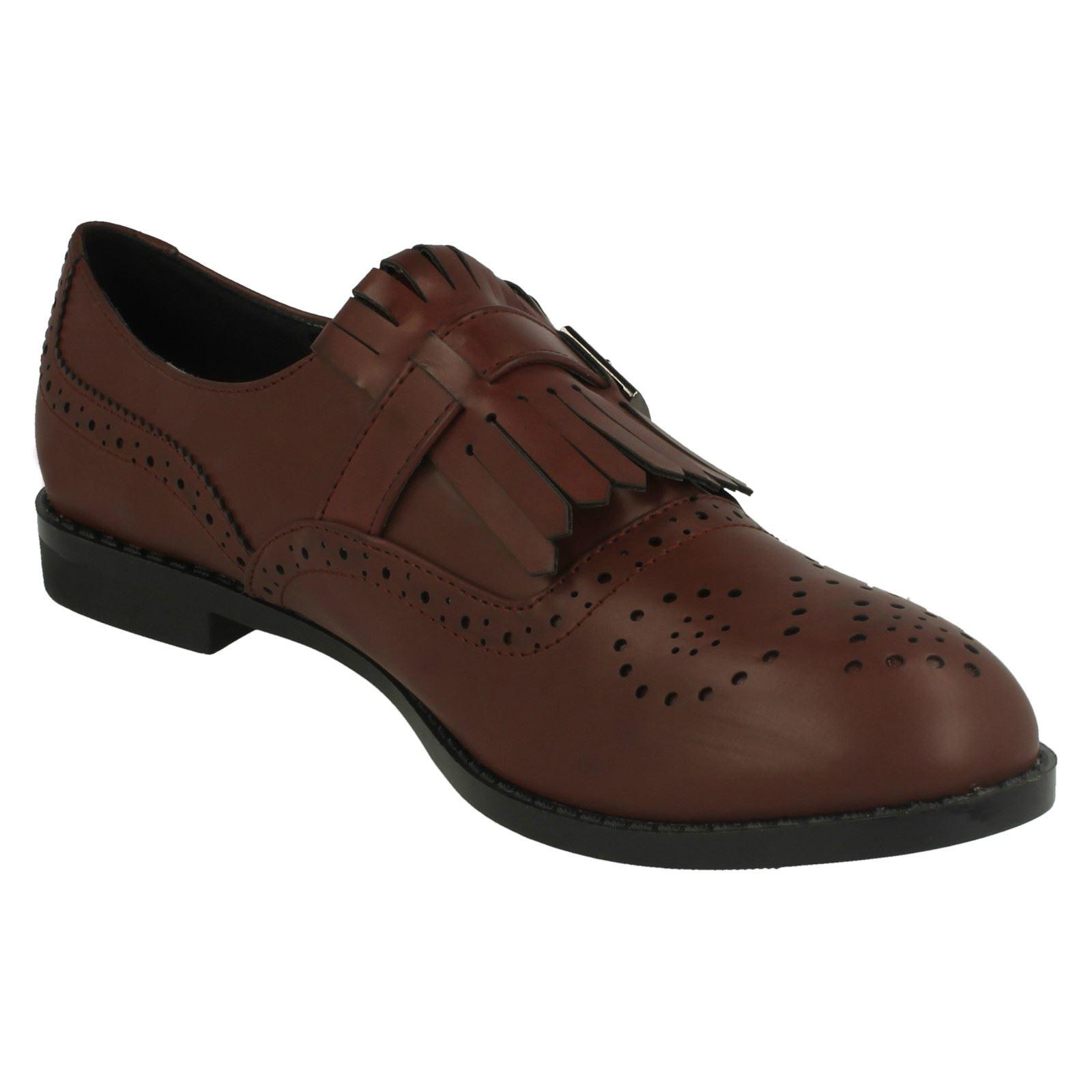 On Detalles Cordones Estilo De Zapato Mujer Sin 'zapatos' Spot Oxford 3ARq4jLSc5