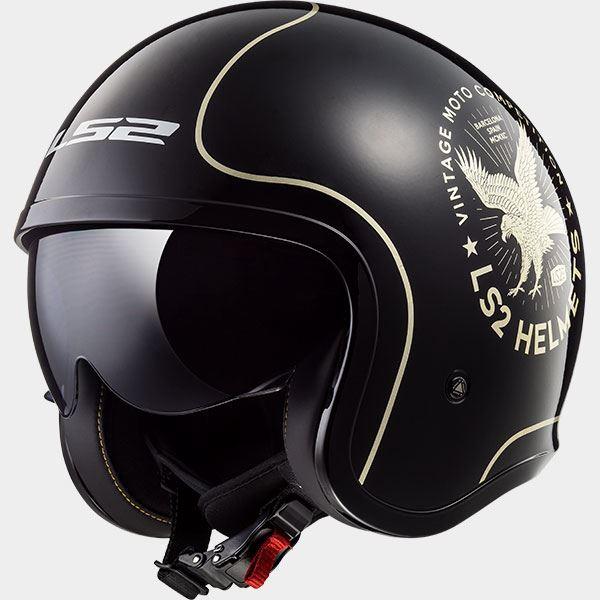 LS2-of599-Spitfire-moto-abierto-Scooter-URBANO-ROAD-Viajero-CASCO-JET