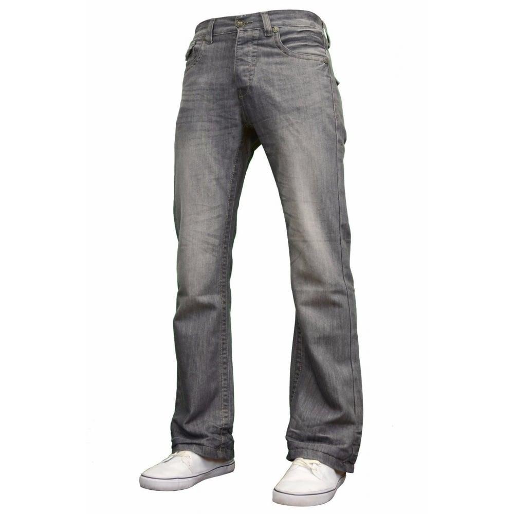 BNWT-NEW-MENS-DESIGNER-BOOTCUT-FLARED-WIDE-LEG-DENIM-JEANS-ALL-WAIST-amp-SIZES