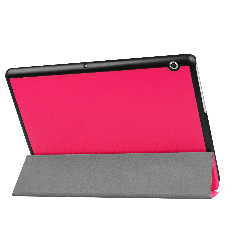 miniatura 20 - Funda-Para-Huawei-Tablet-Media-T3-10-9-6-Pulgadas-Cover-Smart-Estuche-Soporte