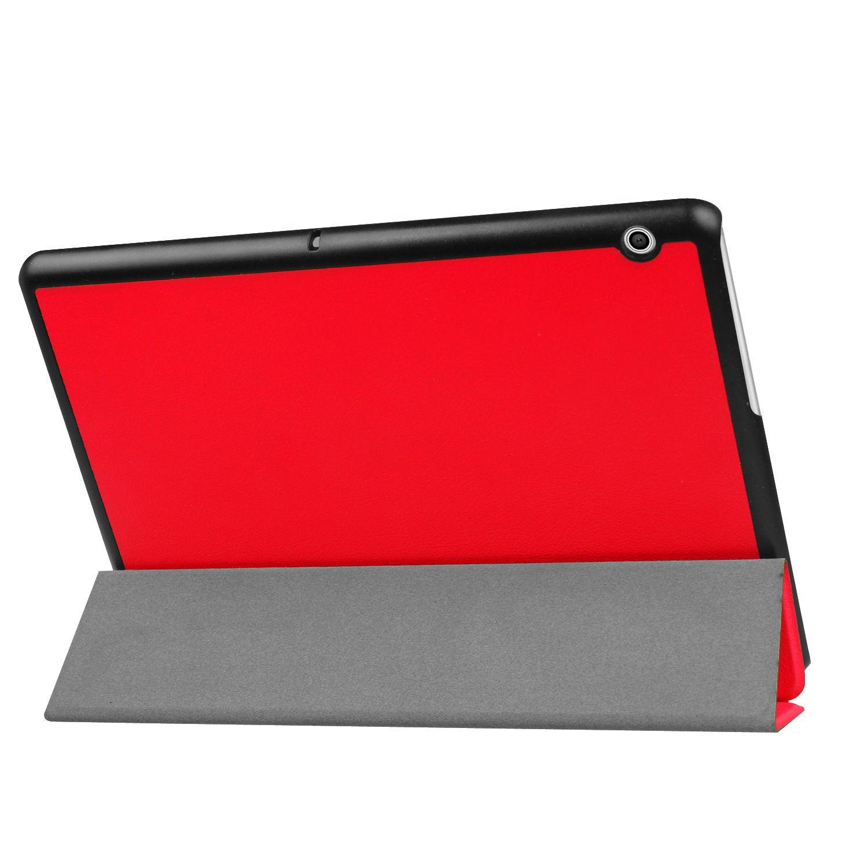 miniatura 28 - Funda-Para-Huawei-Tablet-Media-T3-10-9-6-Pulgadas-Cover-Smart-Estuche-Soporte