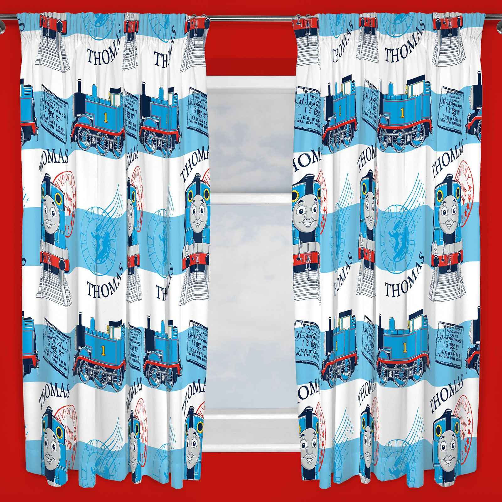 BOYS BEDROOM CHARACTER CURTAINS MARVEL,STAR WARS, PAW PATROL + ...