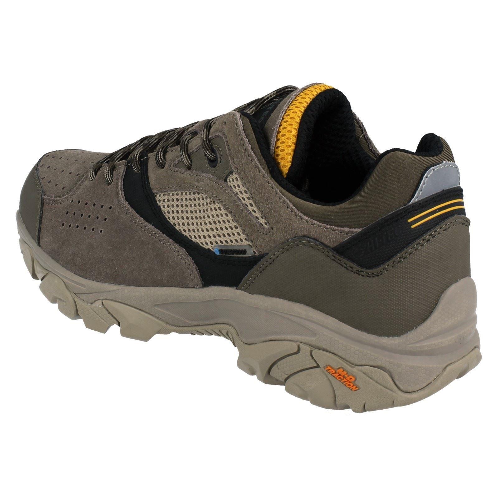 Hombre Hi Tec Cordones Impermeable Nouveau Traccion Bajo Wp Caminar Zapatos Ebay