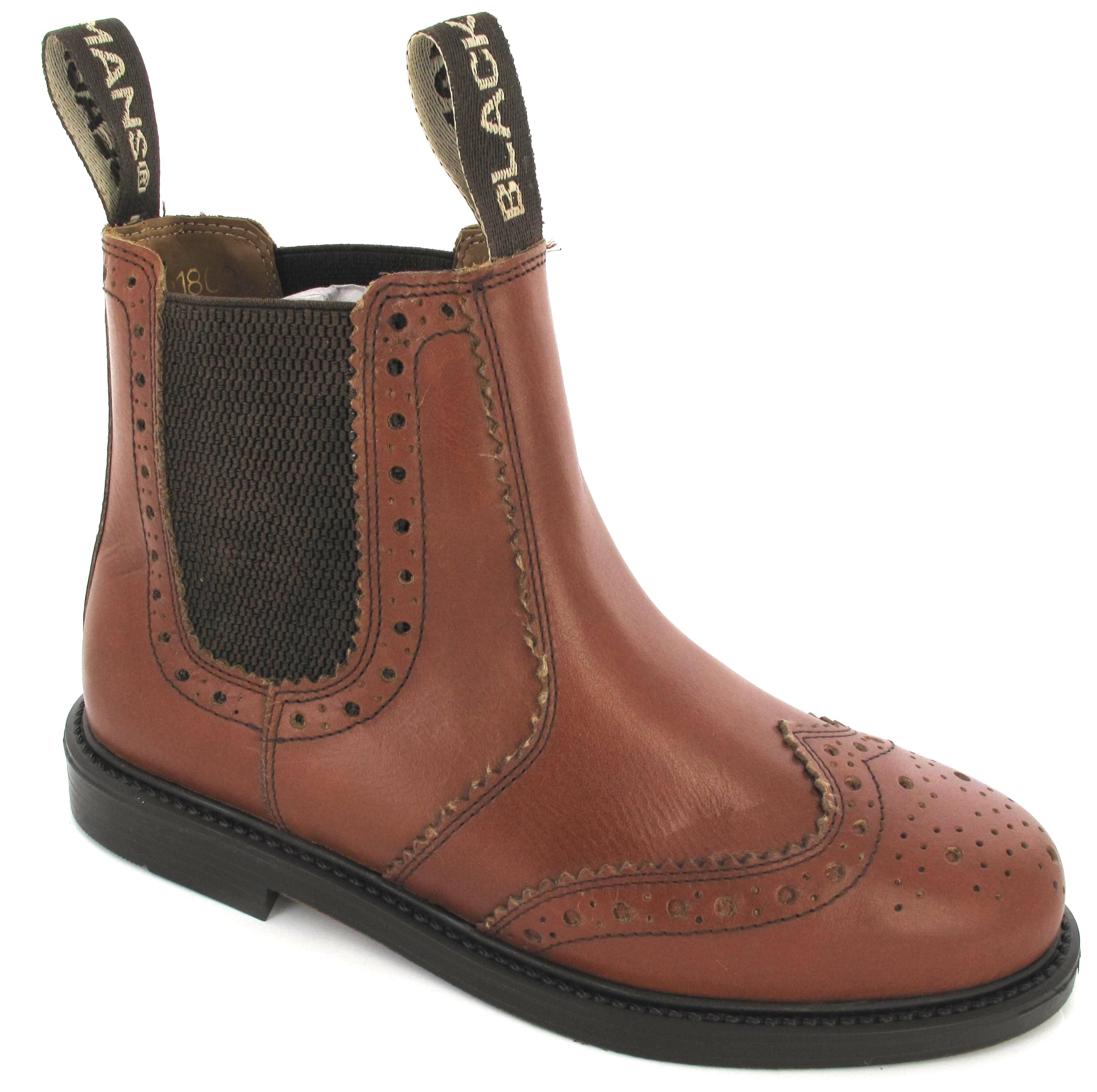 mens leather sole dm slip pull on mlb chelsea dealer