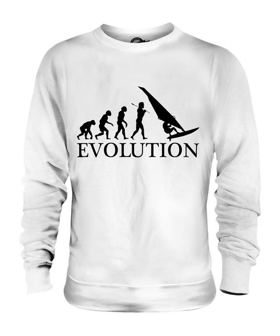 Cadeau De Pull Pour L'homme Évolution Unisexe À Voile Planche Femmes Hommes qwBStgvq