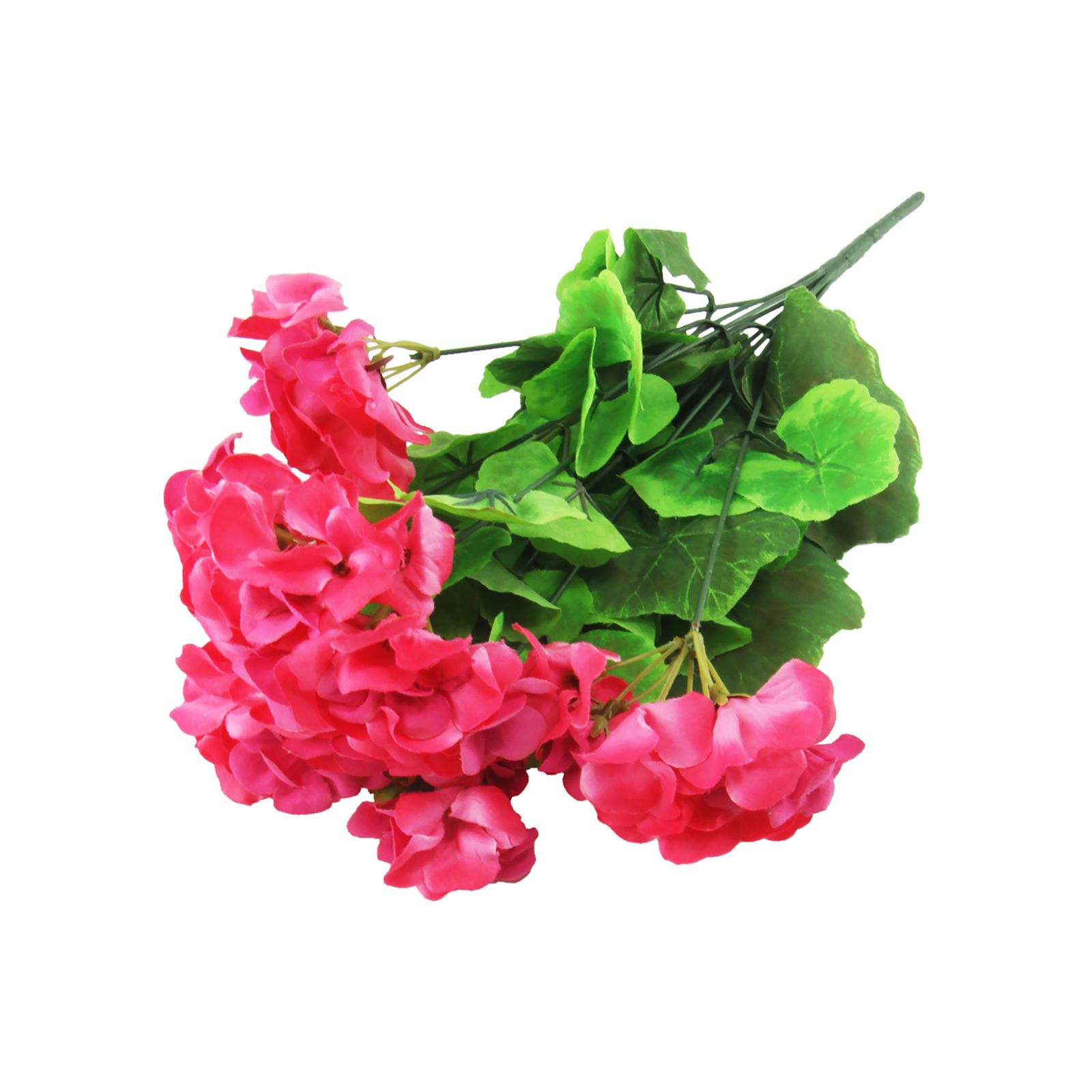 Artificiale geranio bouquet fiori di seta finto grappolo for Fiori a grappolo