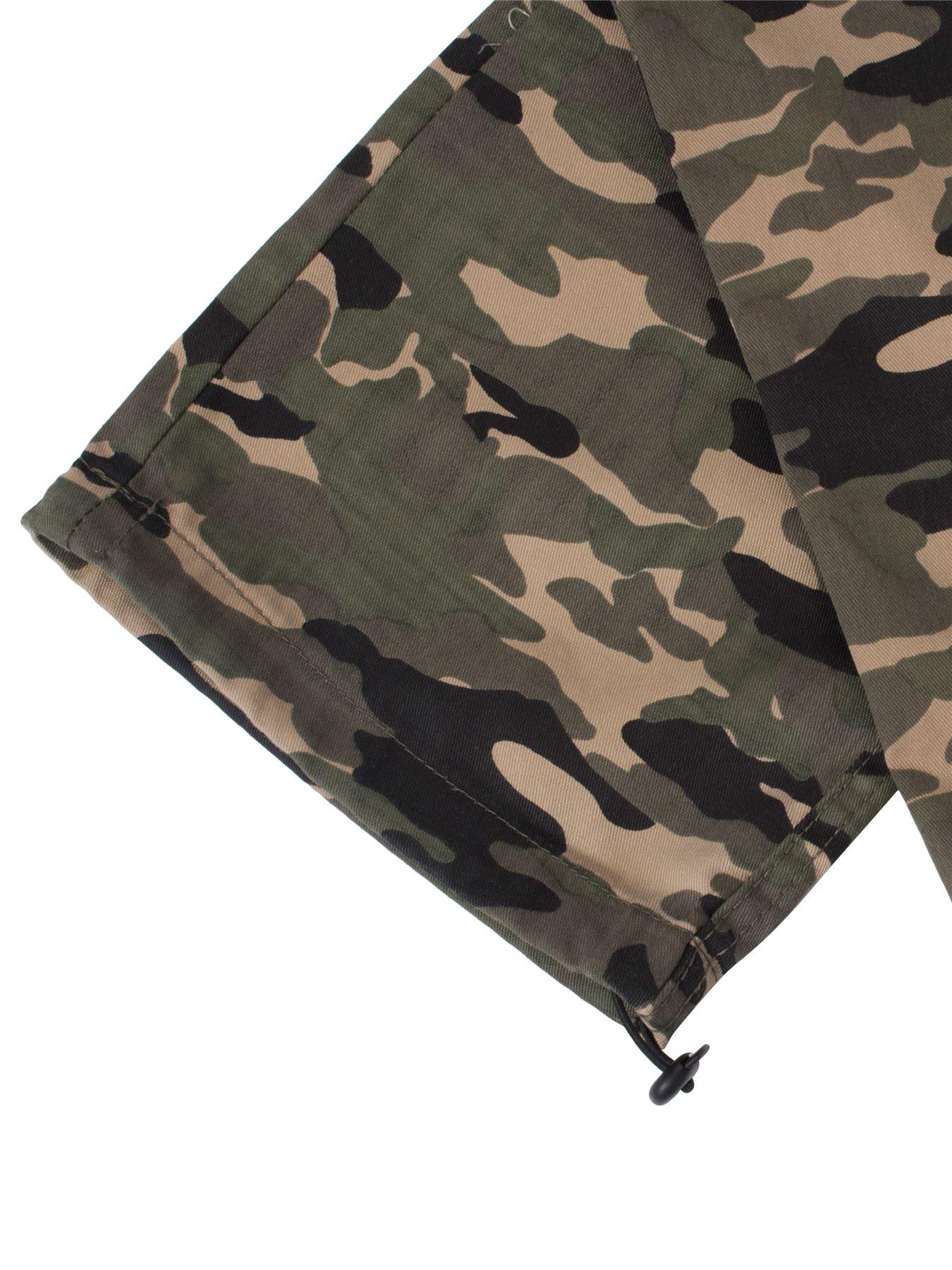 Kruze-Uomo-Militare-Pantaloni-Camouflage-Cargo-Mimetico-Casual-Lavoro miniatura 22
