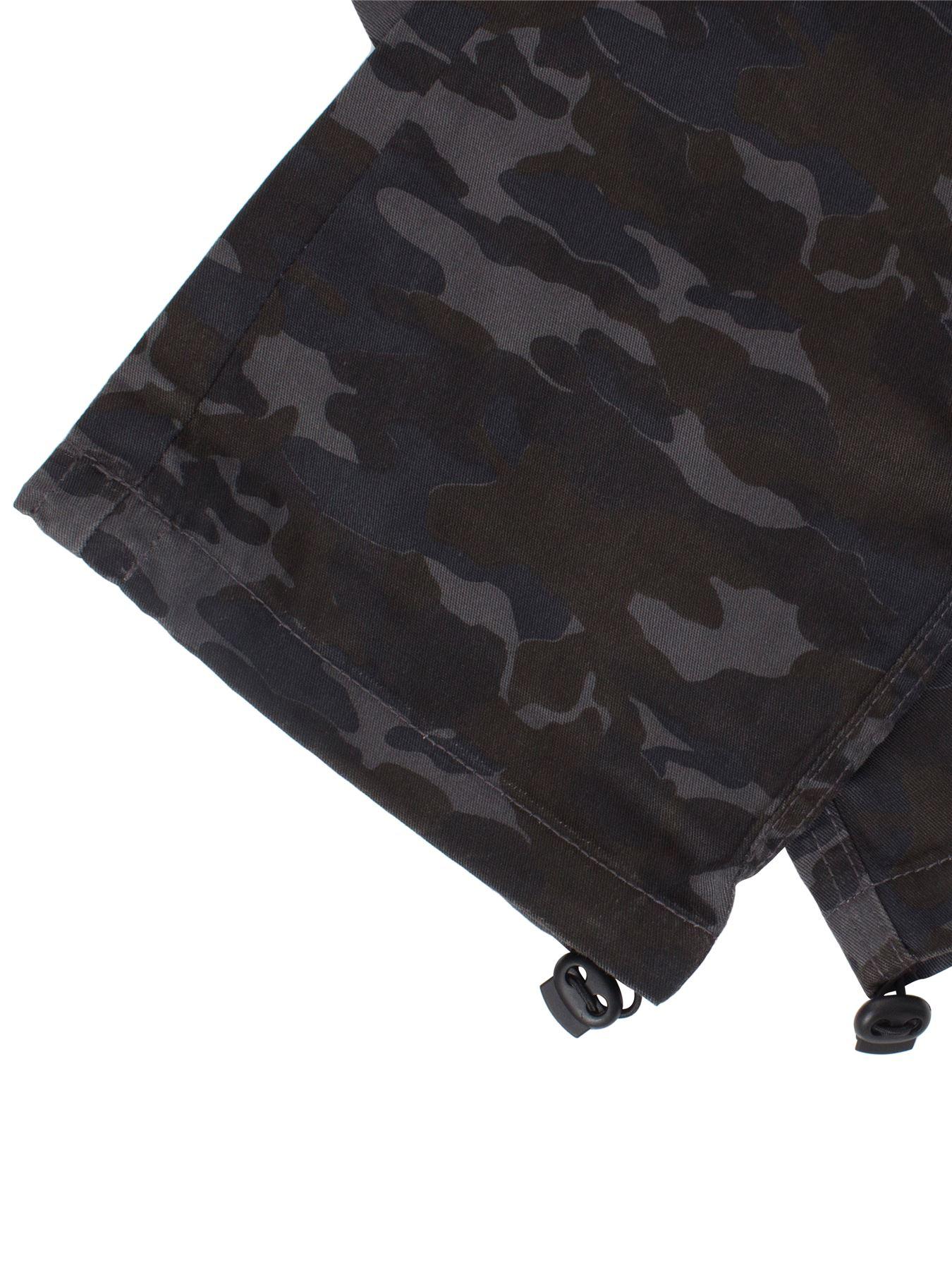 Kruze-Uomo-Militare-Pantaloni-Camouflage-Cargo-Mimetico-Casual-Lavoro miniatura 38