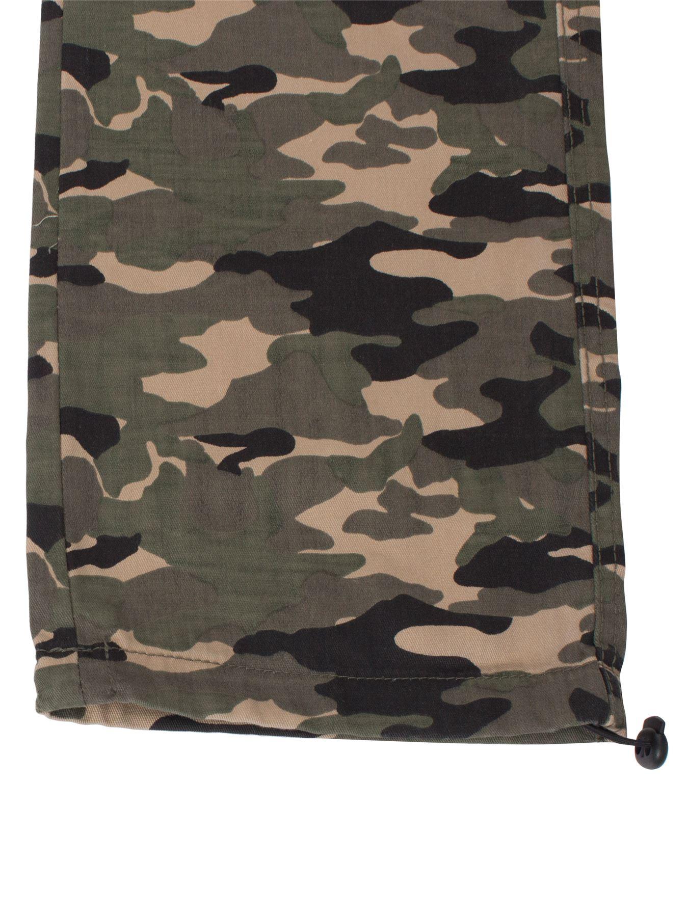 Kruze-Uomo-Militare-Pantaloni-Camouflage-Cargo-Mimetico-Casual-Lavoro miniatura 23