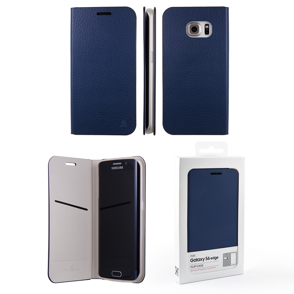s6 galaxy custodia blu