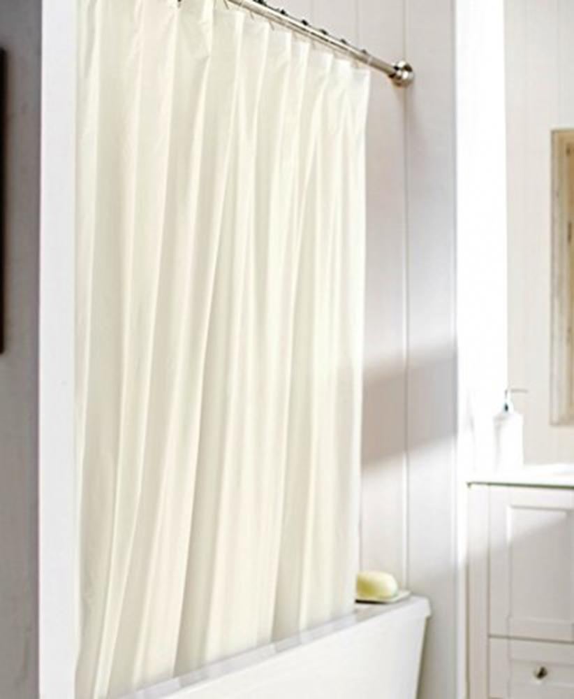 United Linens 10 Gauge HEAVY DUTY Shower Curtain