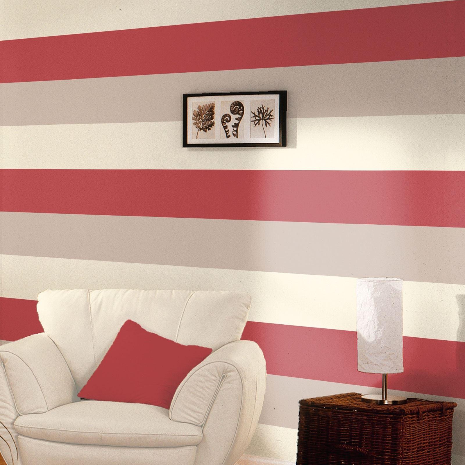 Blue stripe wallpaper ebay -  Picture 6 Of 8