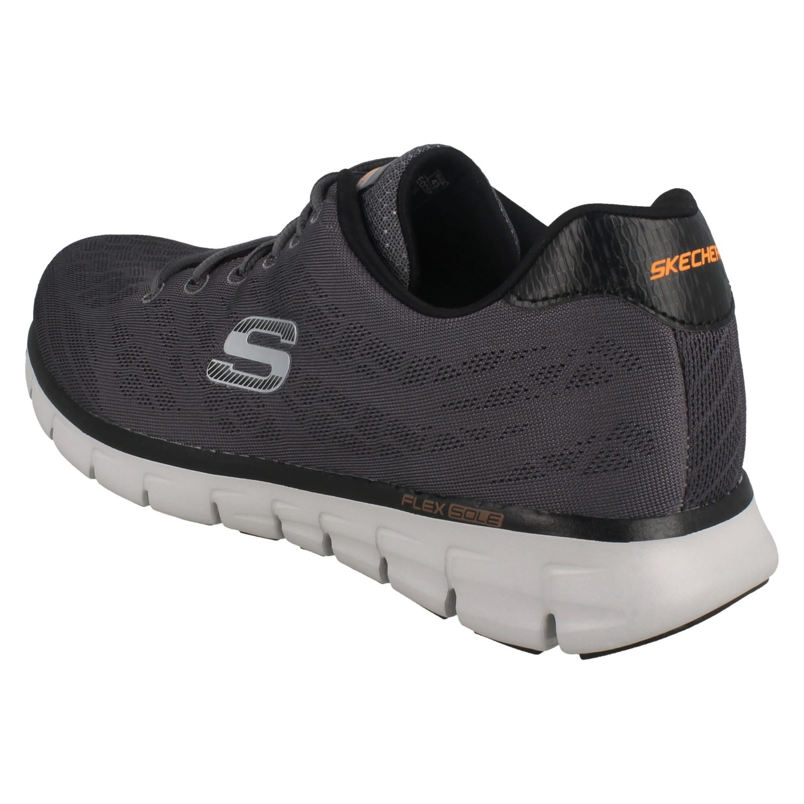 Mens-Skechers-Casual-Trainer-Synergy-Fine-Tune thumbnail 12