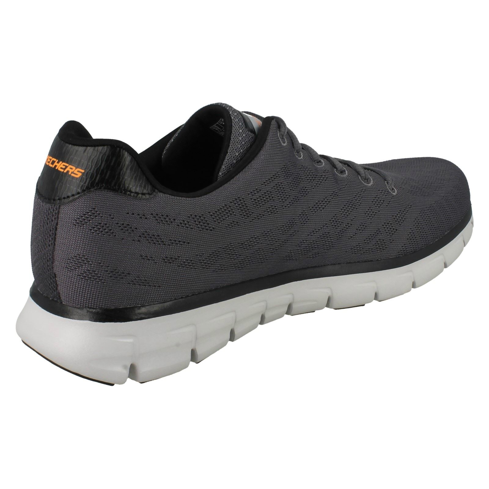 Mens-Skechers-Casual-Trainer-Synergy-Fine-Tune thumbnail 17