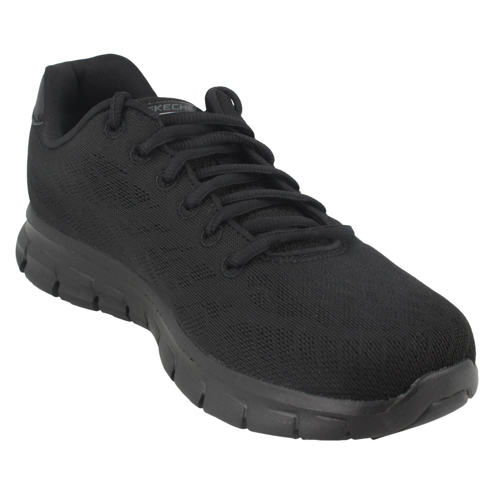 Mens-Skechers-Casual-Trainer-Synergy-Fine-Tune thumbnail 4