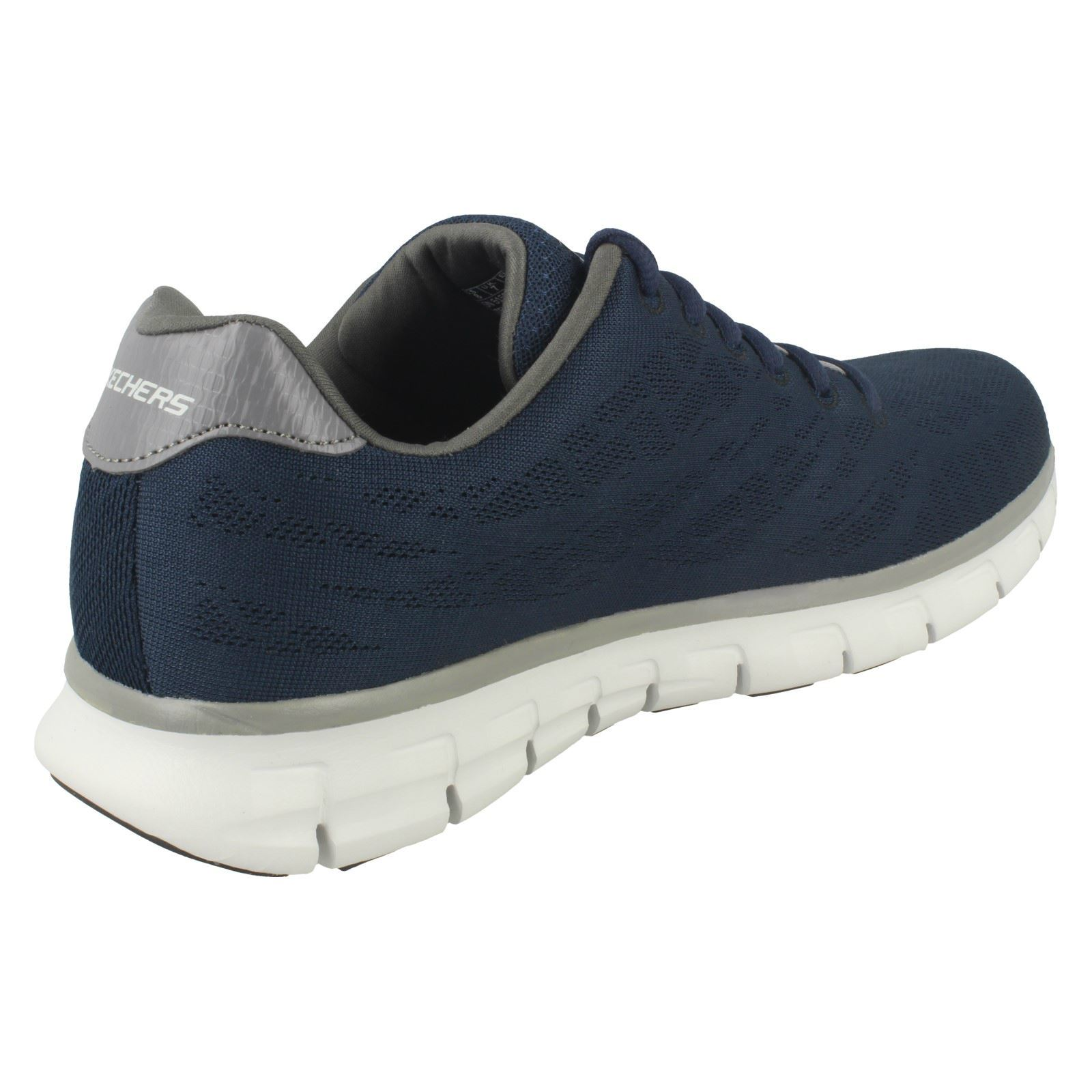 Mens-Skechers-Casual-Trainer-Synergy-Fine-Tune thumbnail 27