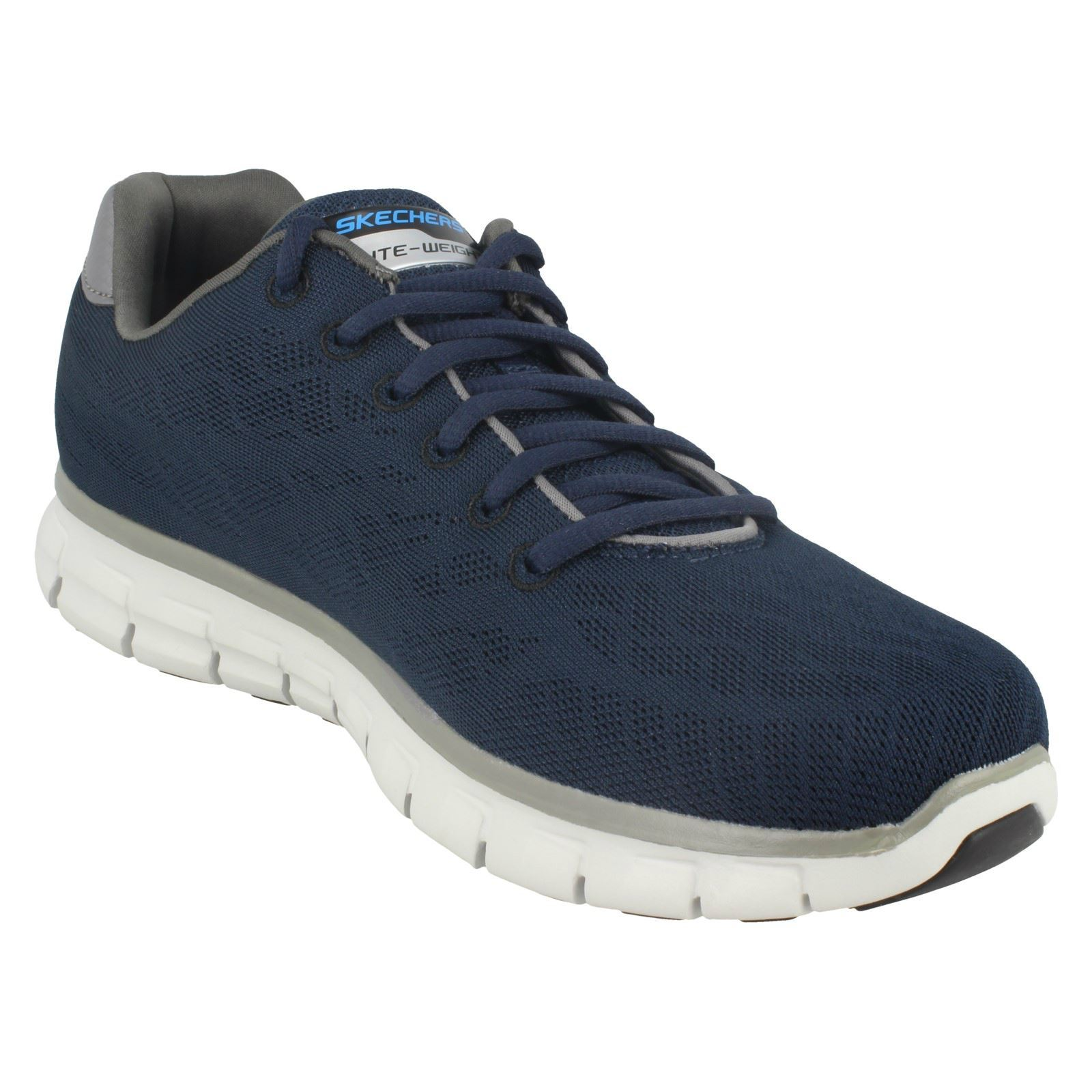 Mens-Skechers-Casual-Trainer-Synergy-Fine-Tune thumbnail 28