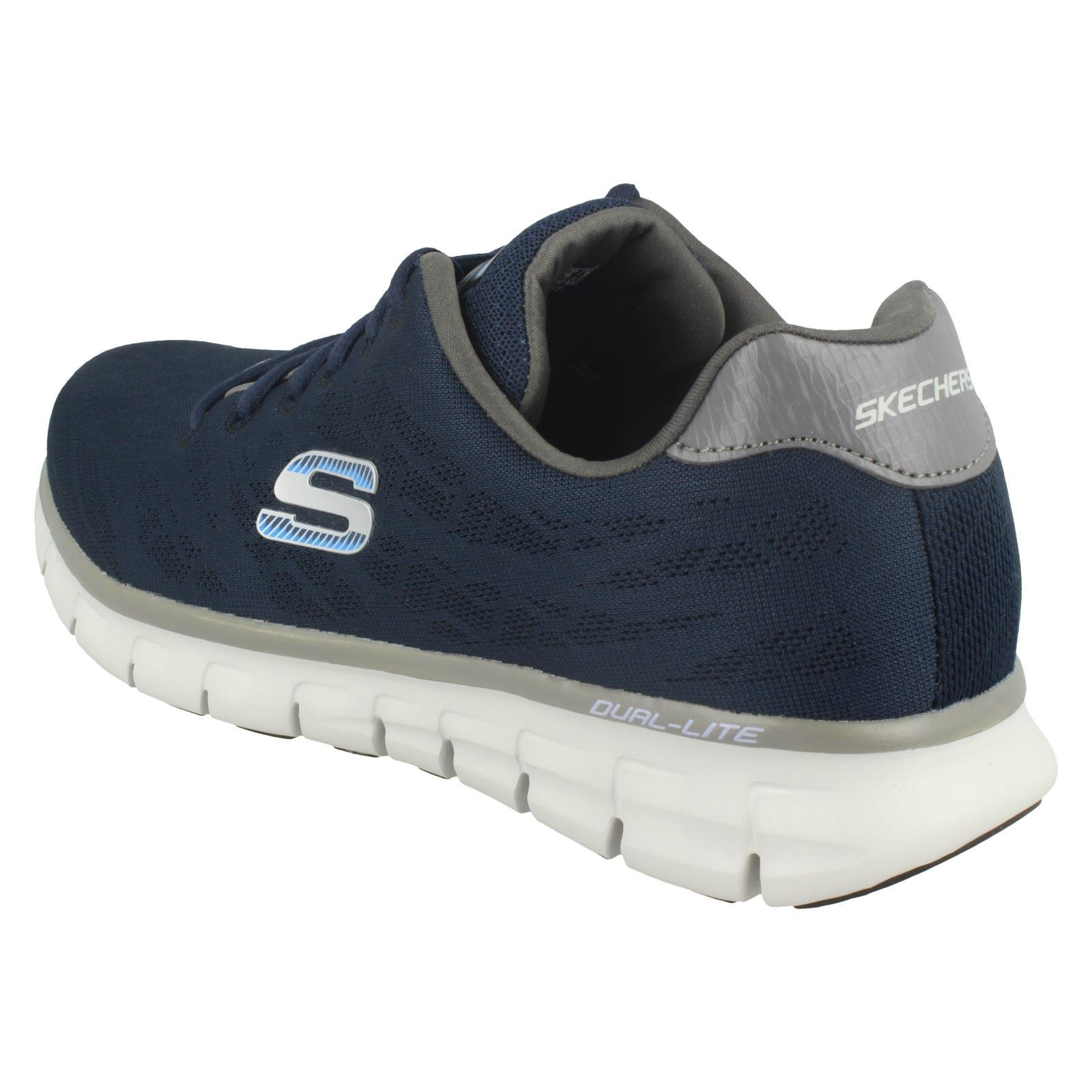 Mens-Skechers-Casual-Trainer-Synergy-Fine-Tune thumbnail 26