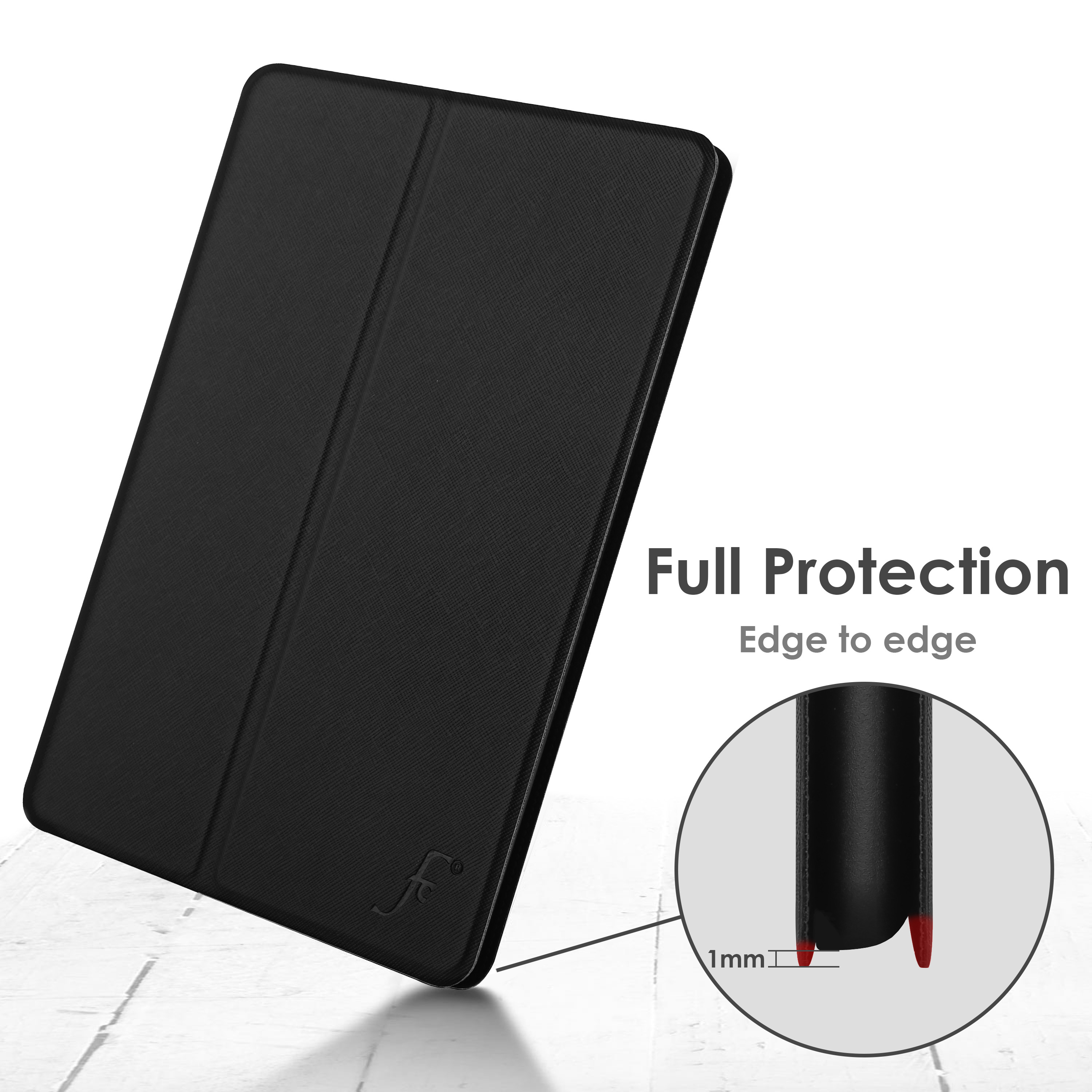 miniature 6 - Samsung Galaxy Tab A 10.1 2019 Étui Magnétique Protection & Support + Stylet