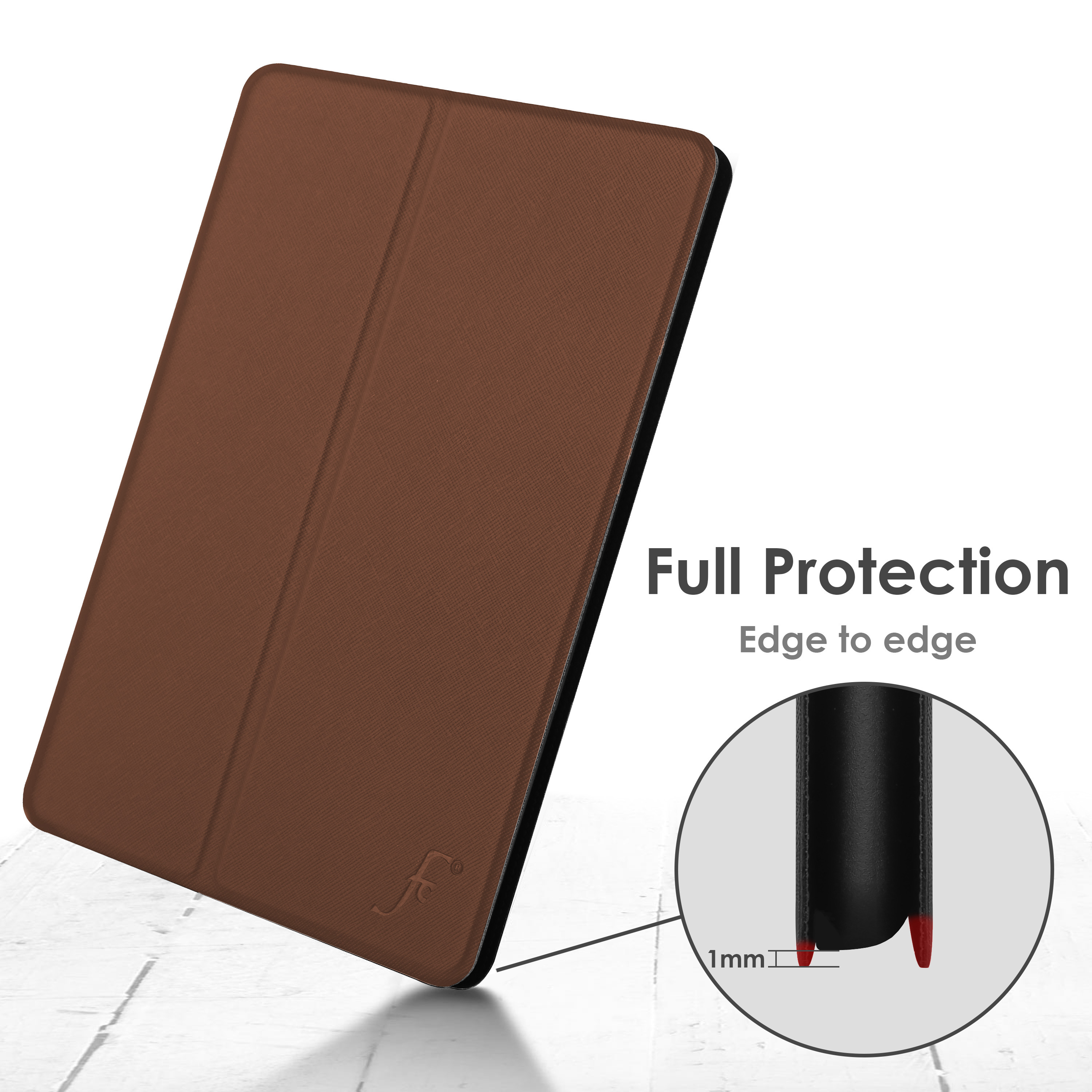 miniature 14 - Samsung Galaxy Tab A 10.1 2019 Étui Magnétique Protection & Support + Stylet