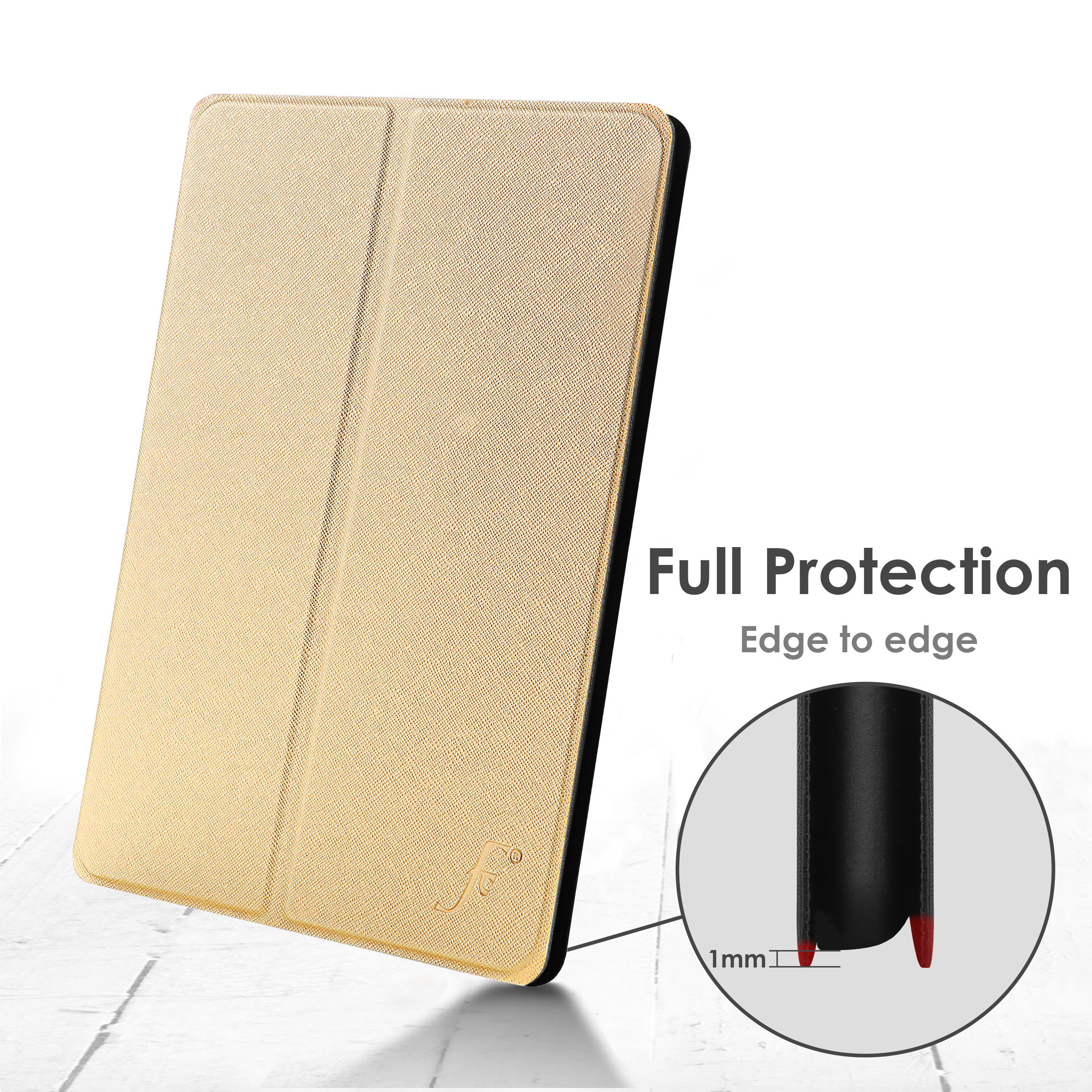 miniature 22 - Samsung Galaxy Tab A 10.1 2019 Étui Magnétique Protection & Support + Stylet