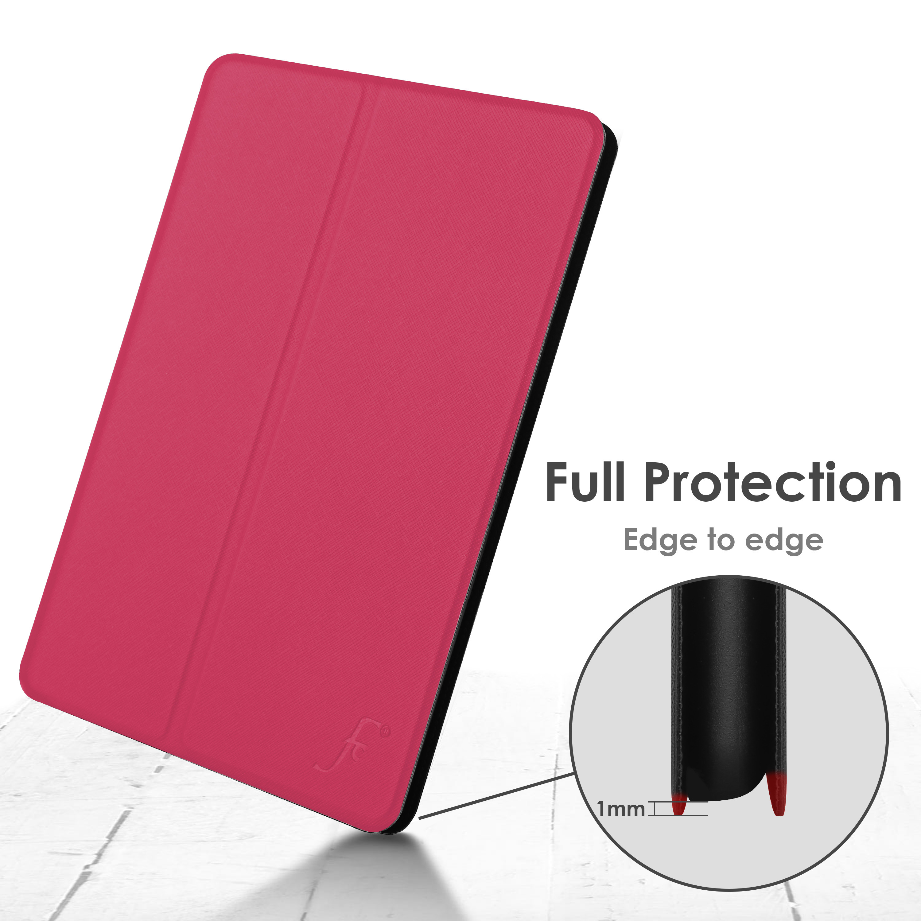 miniature 54 - Samsung Galaxy Tab A 10.1 2019 Étui Magnétique Protection & Support + Stylet