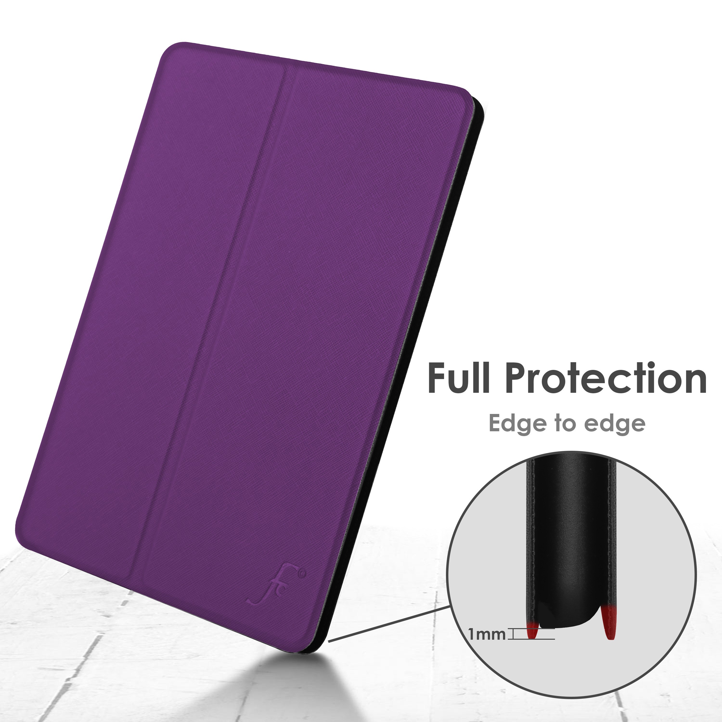 miniature 62 - Samsung Galaxy Tab A 10.1 2019 Étui Magnétique Protection & Support + Stylet