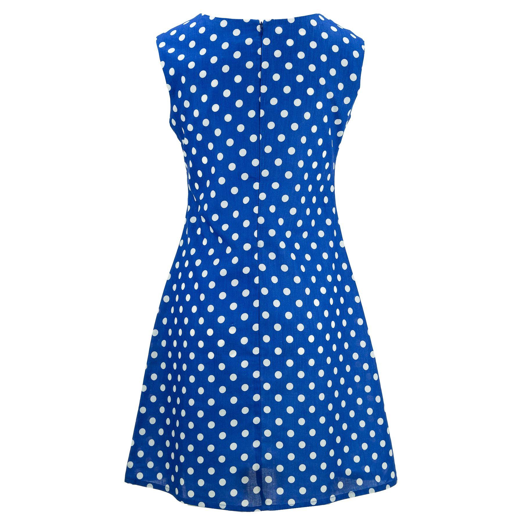 Nette Shifty Kleid Loud Originals Damen Ärmellos Sommer Freizeit Reißverschluss