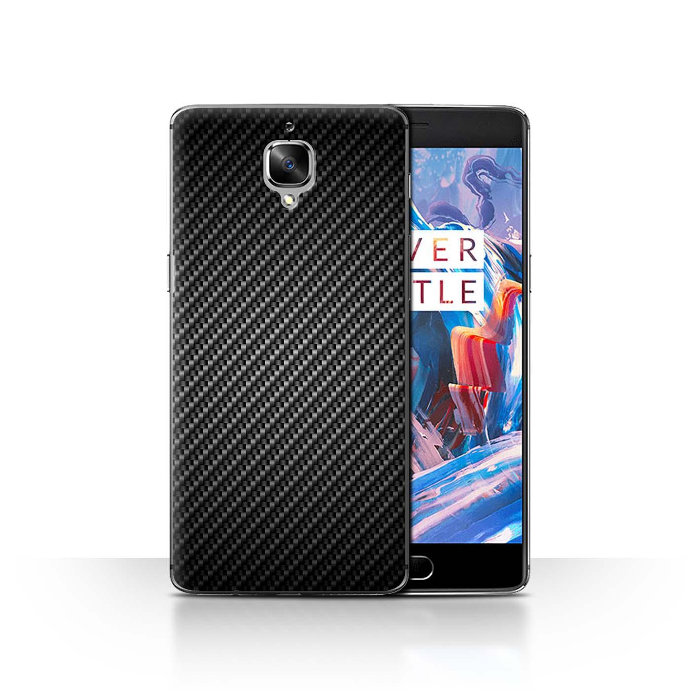 STUFF4-etui-pour-telePhone-coque-arriere-un-plus-3-Effet-De-Fibre-Carbone-Motif