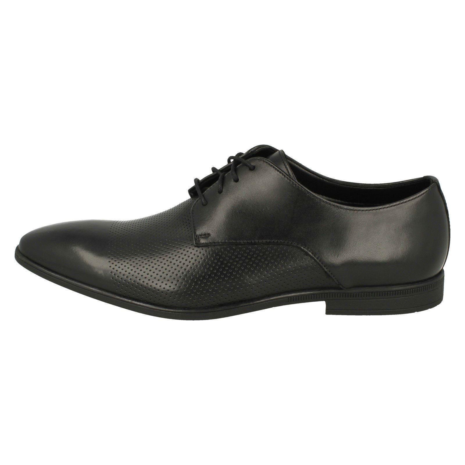 Clarks Hombre Zapatos Con Cordones Estilo Formal Bampton Gorra Zapatos De Vestir