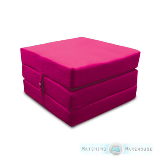 Coton-Replie-Adulte-Cube-Invite-Lit-Z-Chaise-Tabouret-Simple-Futon-Fauteuil-Lit