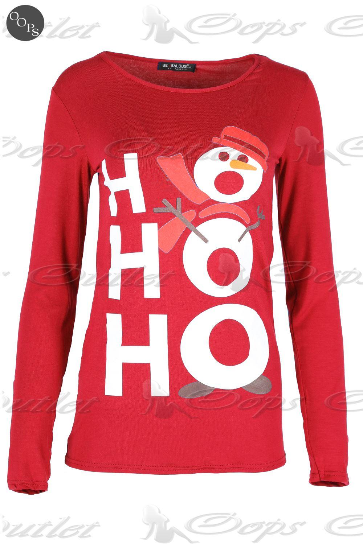 Christmas Top.Womens Christmas T Shirts Ebay Rldm