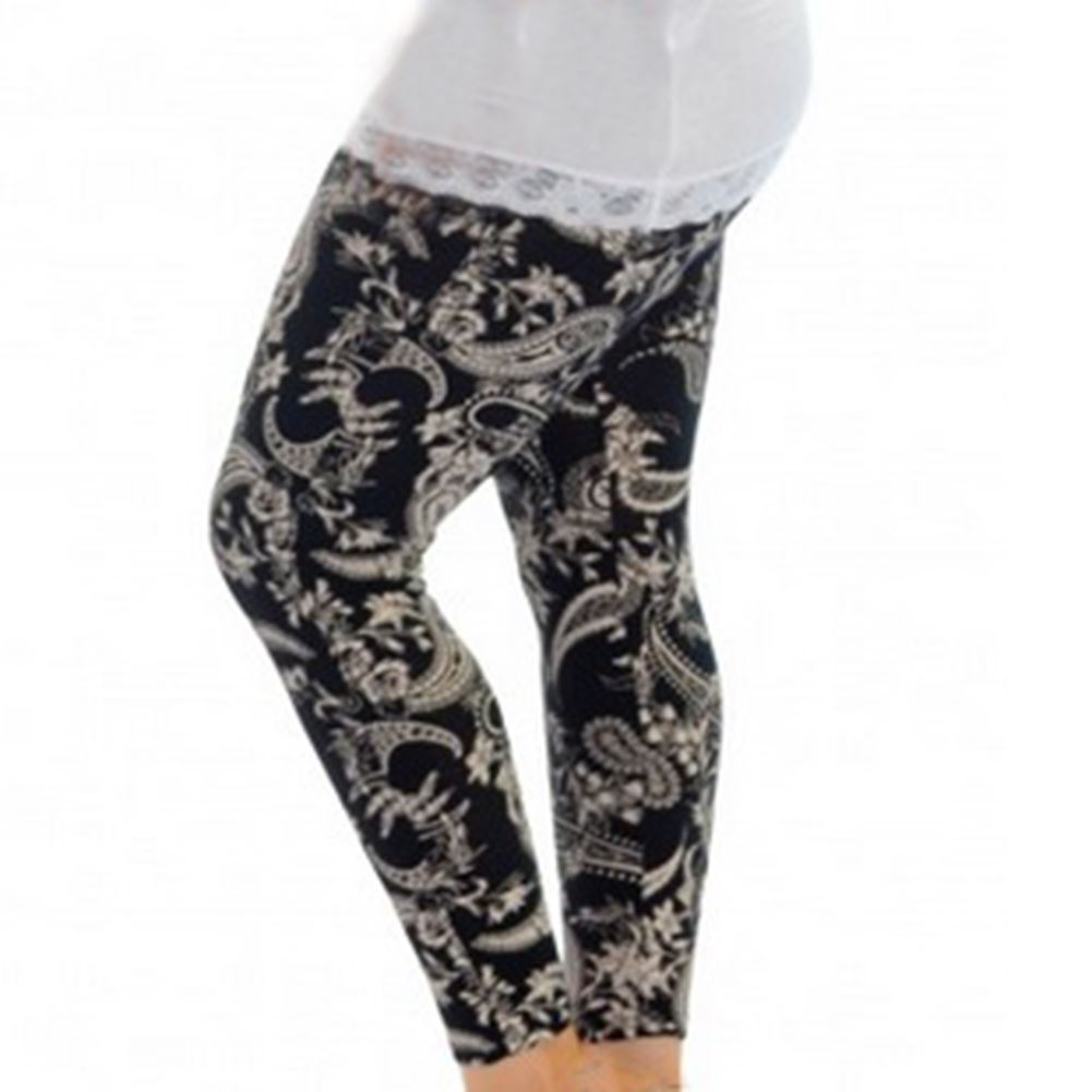 Plus Size Patterned Leggings Magnificent Inspiration