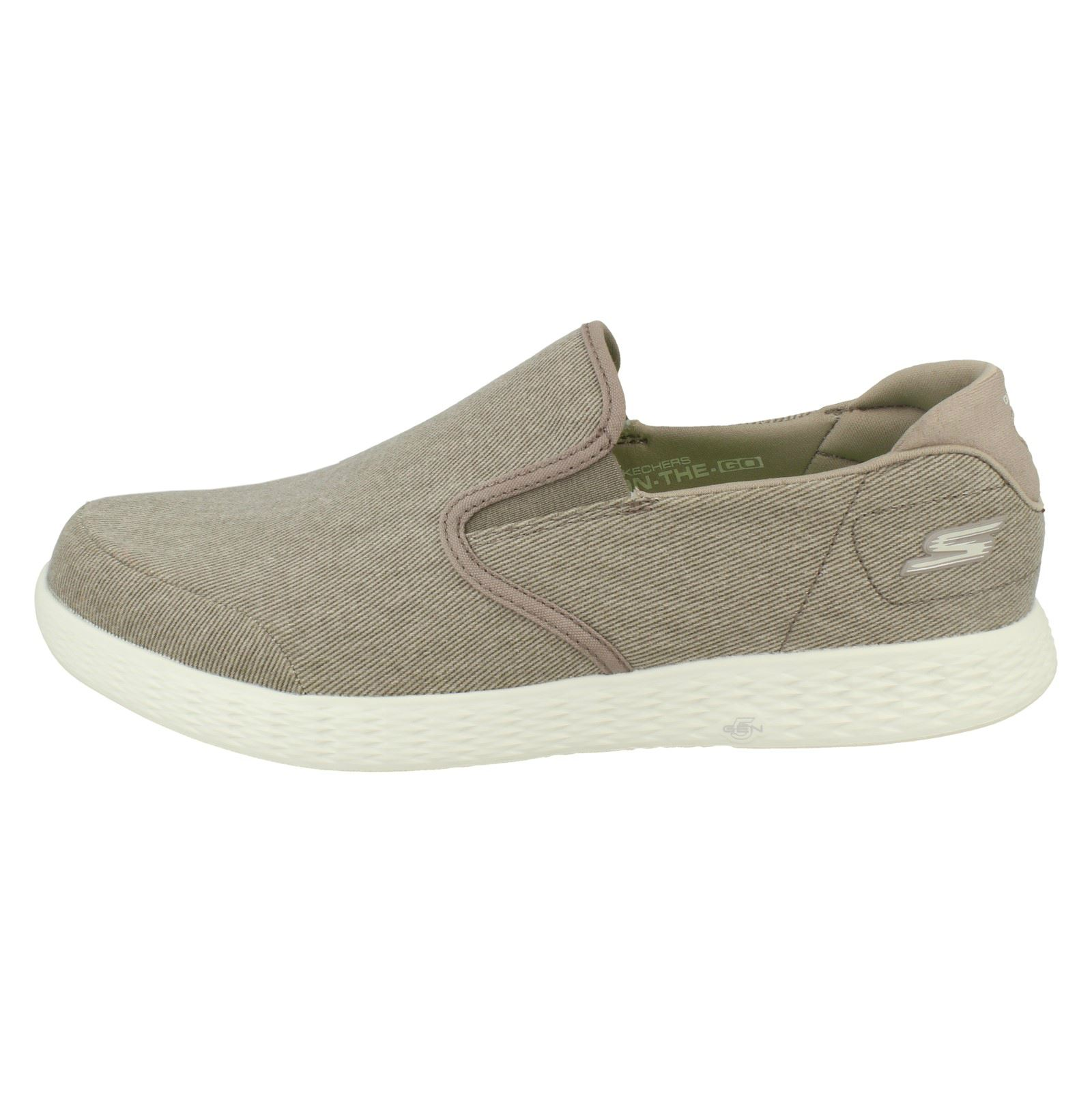 Men-Skechers-On-The-Go-Glide-Victorious-53781-Trainers thumbnail 4