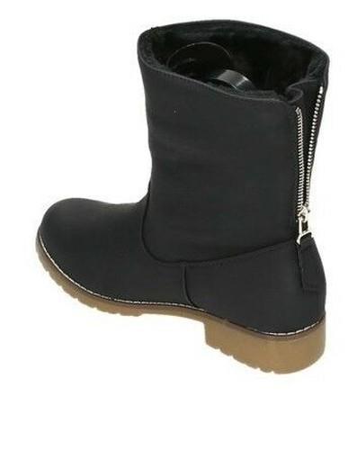 Femmes Chaussures Bottines Chaude Derrière À D'hiver Pour Doublure ZZnzrw5q