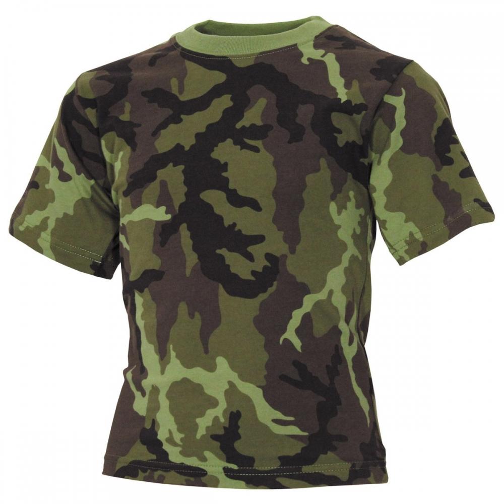 Ninos-Camisetas-Media-Manga-Militar-Ejercito-Kindershirt-Ocio-Tiempo-Libre-Nuevo