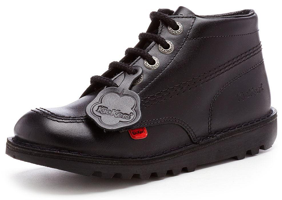 Kickers Kick Hi \u0026 Lo Core Kids Leather