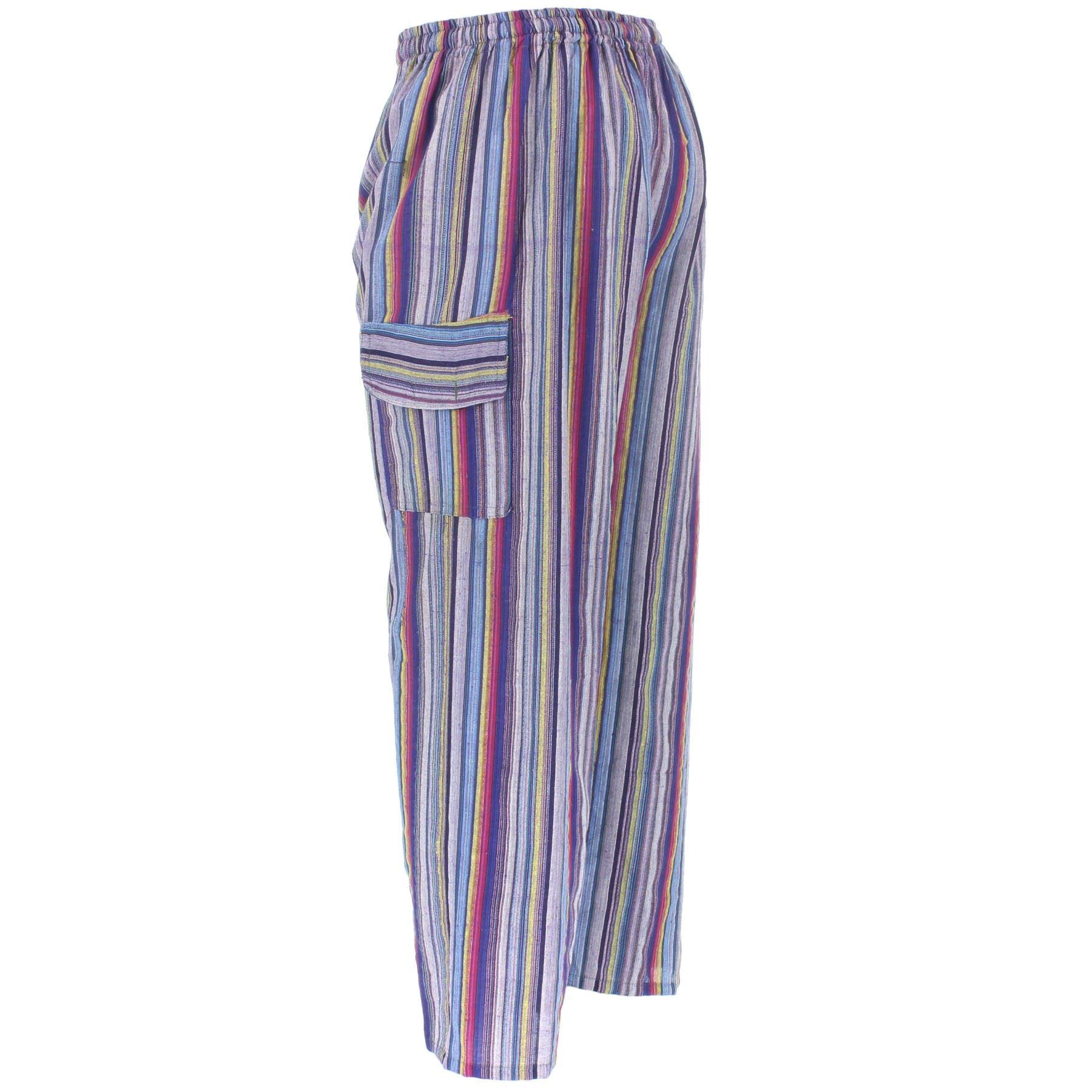 Wrangler Funky Hippie Striped Pants 1960s, New Never Worn ... |Hippie Striped Pants