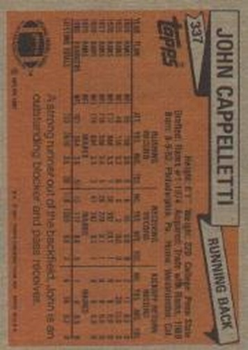 1981-Topps-Futbol-Tarjeta-Recoger-327-527 miniatura 7