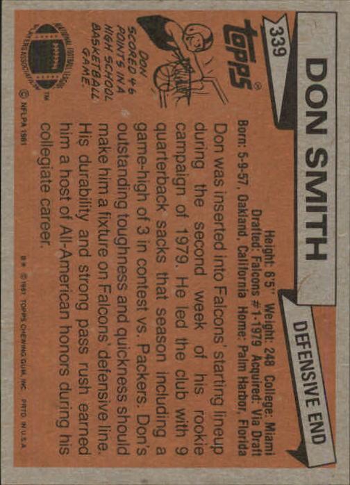 1981-Topps-Futbol-Tarjeta-Recoger-327-527 miniatura 11